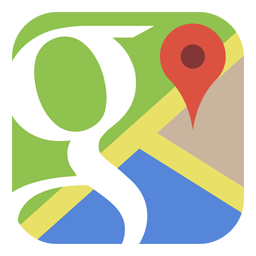 google maps icoontje